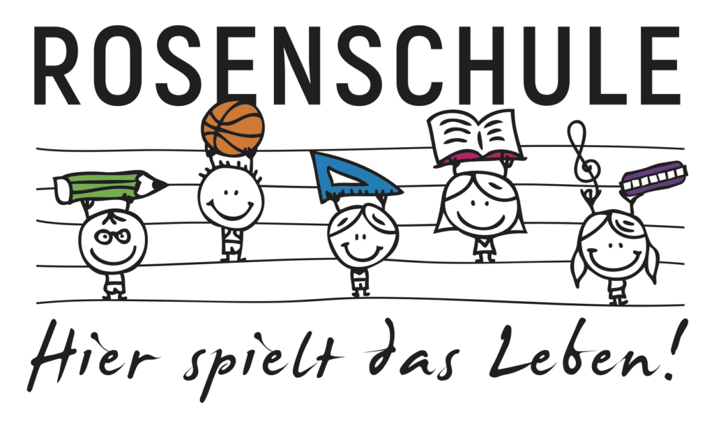 Grundschule Rosenschule Trossingen - Logo